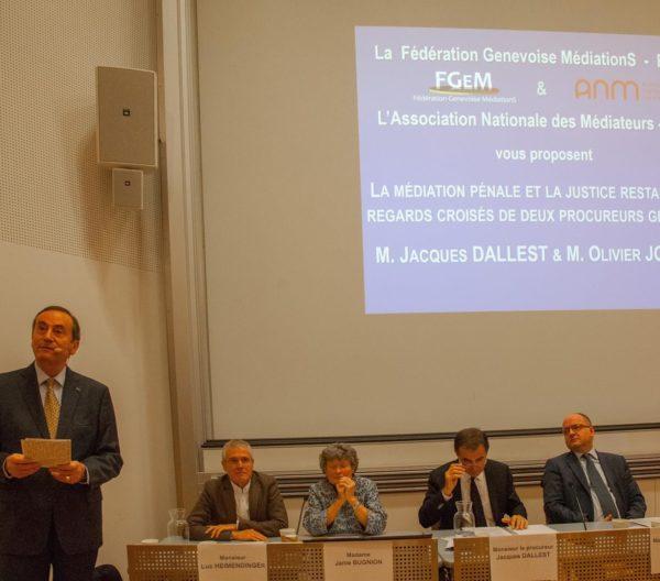 Conférence regards croisés de 2 procureurs - HES Genève